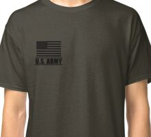 Private PV1 Infantry US Army Rank by Mision Militar ™ Classic T-Shirt