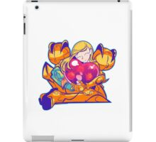 Heart-Shaped Metroid iPad Case/Skin