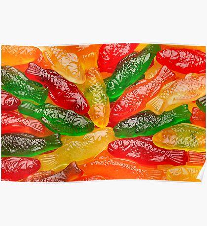 Gummy Fish Poster