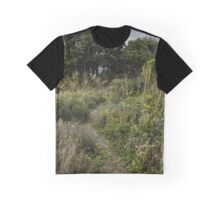Autumn Pathway Graphic T-Shirt