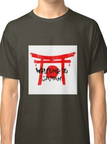 Welcome To Japan Red & Black Classic T-Shirt