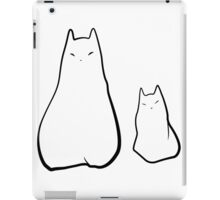 Ghost cats iPad Case/Skin