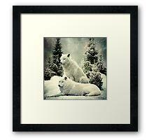 wolfpack Framed Print
