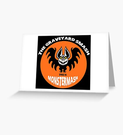 This is Monster Mash - Bat Edition Greeting Card