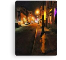 Saturday Night on State Street Canvas Print