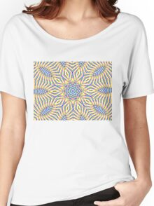 Kaleidoscope Colourful Stripes Women's Relaxed Fit T-Shirt