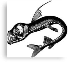Real Sea Monster Canvas Print