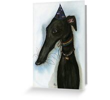 """The love from a hound is like a """"Happy Birthday"""" every day Greeting Card"""