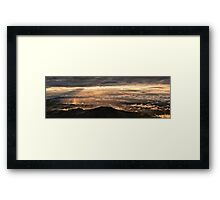After the storm, Monte Nerone, Italy Framed Print