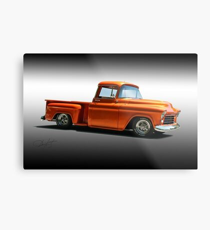 1956 Chevrolet Stepside Pickup Metal Print