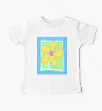 Yellow Flower Baby Tee