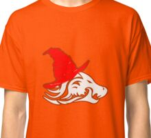 Red And White Logo Classic T-Shirt