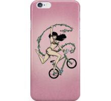 Biking Betty iPhone Case/Skin