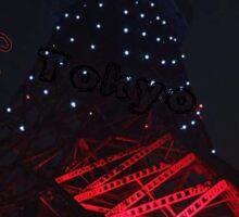 Tokyo Tower Design by AP Sticker