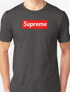 Supreme | Small | Red Background | High Quality!  Unisex T-Shirt