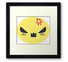 Angry Candy Framed Print