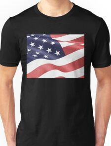 America, Colored pencils and inkpen US flag Unisex T-Shirt