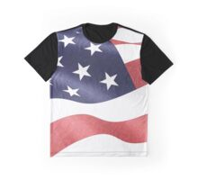 America, Colored pencils and inkpen US flag Graphic T-Shirt