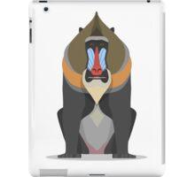 Mandrill Baboon iPad Case/Skin