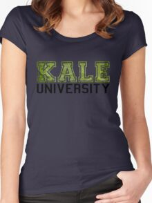 Kale University Women's Fitted Scoop T-Shirt
