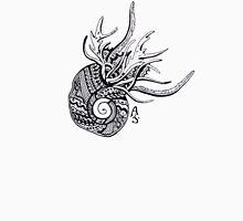 Abstract snail Men's Baseball ¾ T-Shirt