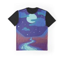 Frog Song River Graphic T-Shirt