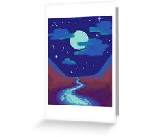 Frog Song River Greeting Card