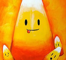 The Happy Candycorn by Megan Mars