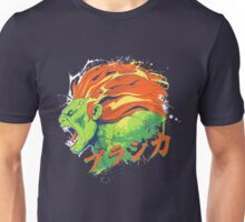 Street Fighter II - Blanka Unisex T-Shirt