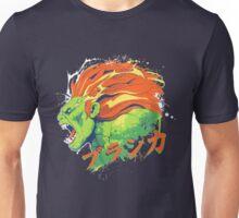 Street Fighter II - Blanka Unisex T-Shirt