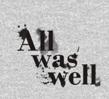 Harry Potter and the Deathly Hallows 'All Was Well'  by ChansFund