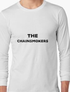 The Chainsmokers inspired logo Long Sleeve T-Shirt