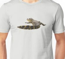 Alligator sunning Unisex T-Shirt
