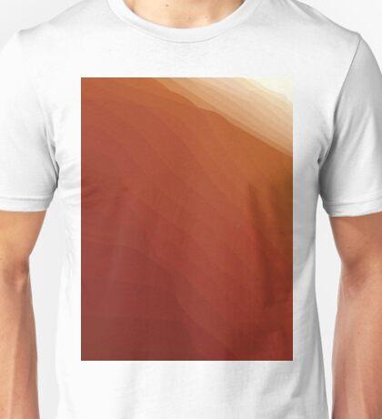 Sunrise in the desert Unisex T-Shirt