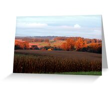September's Fields Greeting Card