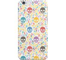 Funny sugar skulls iPhone Case/Skin