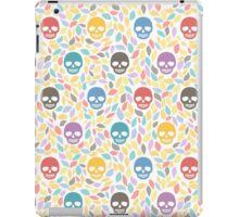 Funny sugar skulls iPad Case/Skin