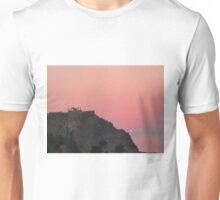 Sunrise behind a Temple Unisex T-Shirt