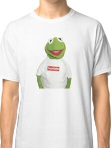 Supreme | Kermit | White Background | High Quality! Classic T-Shirt