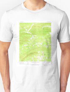 USGS TOPO Map Arkansas AR Bonnerdale 258018 1966 24000 Unisex T-Shirt