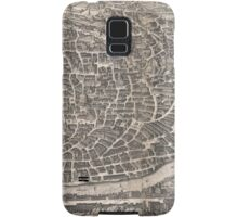 Vintage Map of Rome Italy (1652)  Samsung Galaxy Case/Skin