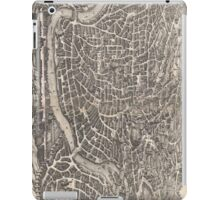 Vintage Map of Rome Italy (1652)  iPad Case/Skin