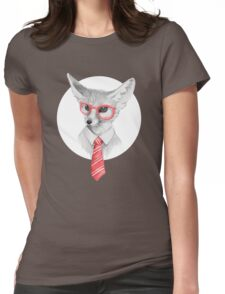 Cool fox Womens Fitted T-Shirt