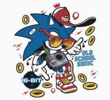 Sonic the Hedgehog - Old School One Piece - Long Sleeve