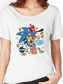 Sonic the Hedgehog - Old School Women's Relaxed Fit T-Shirt