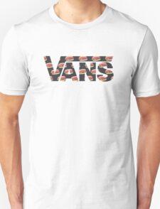 Vans Burger Pattern Unisex T-Shirt