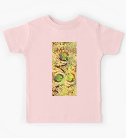 Colourful Abstract Kids Tee