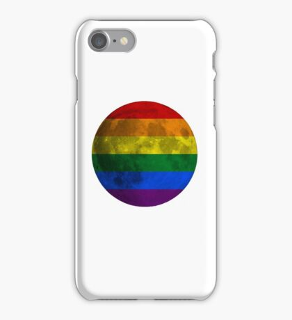 Lesbian and Gay Moon iPhone Case/Skin