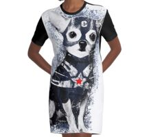 CAPTAIN COCOCHIHUA Graphic T-Shirt Dress