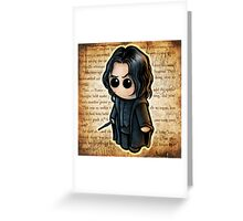 """HARRY POOTER - """"Half Blood Prince"""" POOTERBELLY Greeting Card"""